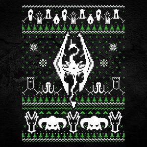 Skyrim Christmas Sweater