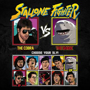 stallone fighter t-shirt