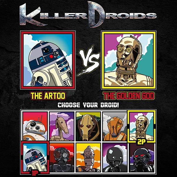 Star Wars Droids Tee