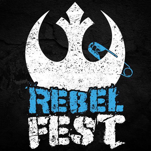STAR WARS Rebel Festival Tee Full Front