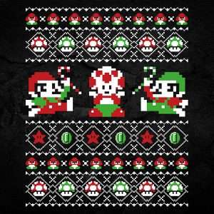 Super Mario Christmas Sweater