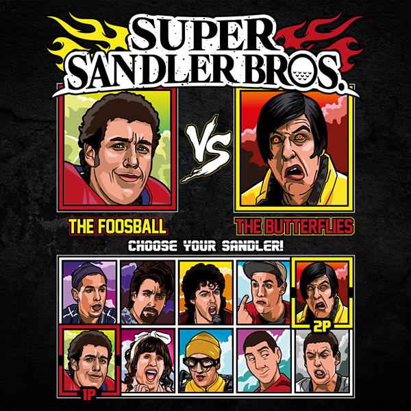 Super Sandler Bros Tee Shirt