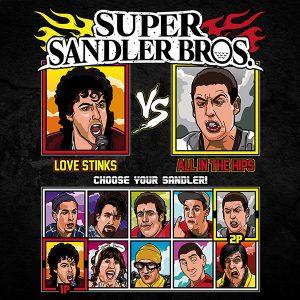 Super Sandler Bros T-Shirt