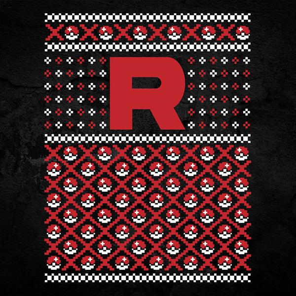 Team Rocket Christmas Sweater
