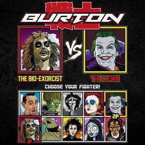 tim burton beetlejuice joker fighter tee