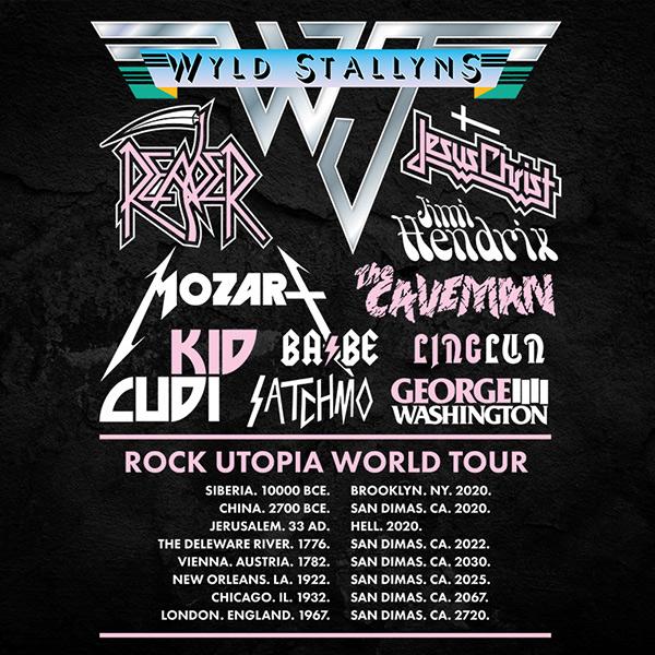 Wyld Stallyns Van Halen Festival Shirt