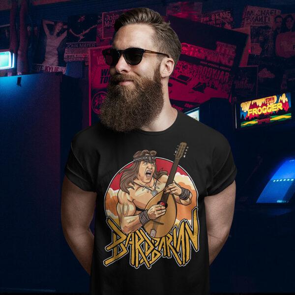 Bardbarian Conan Arnie Tee Shirt