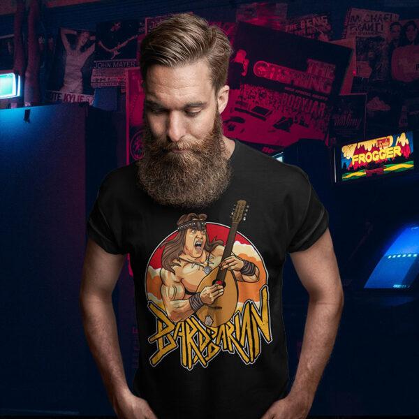 Bardbarian Conan Arnold Tee Shirt