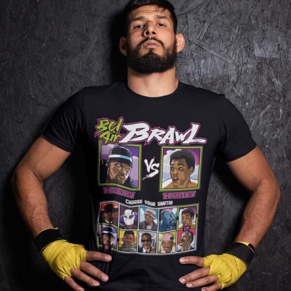 Bel Air Brawl - Bad Boys vs Muhammad Ali Tee