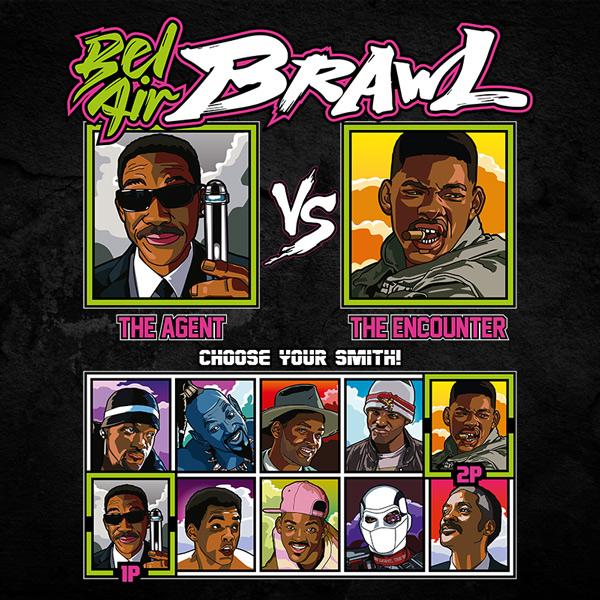 Bel Air Brawl - Men In Black MIB vs Independence Day