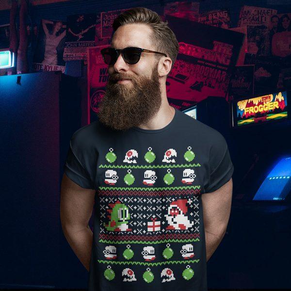 Bubble Bobble Christmas Sweater T-Shirt