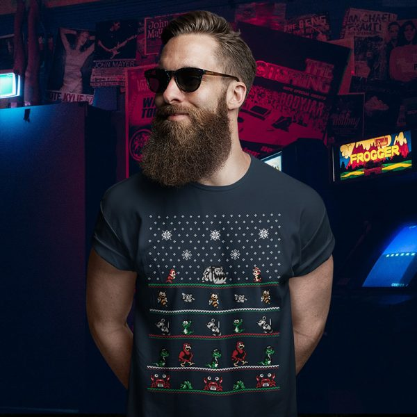 Chip n Dale NES Chritmas Sweater T-Shirt