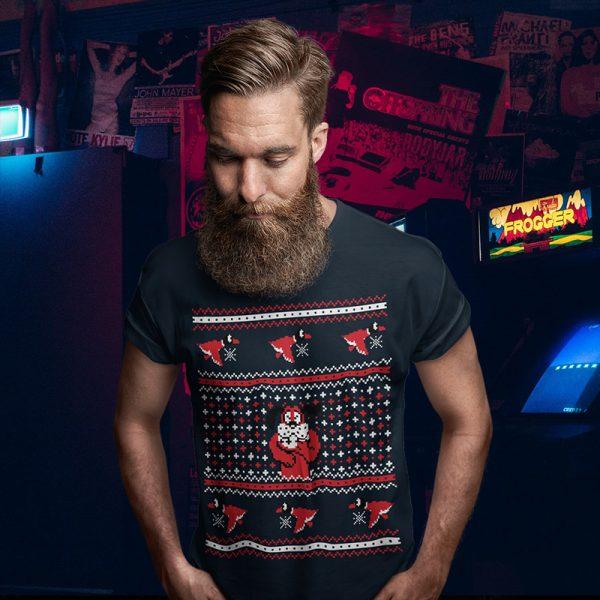 Duck Hunt Ugly Christmas Sweater Tee