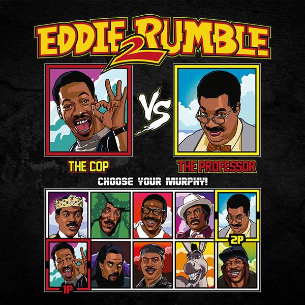 Eddie 2 Rumble Axel Foley vs Nutty Professor