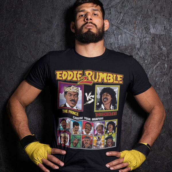 Eddie 2 Rumble Coming to America Tee