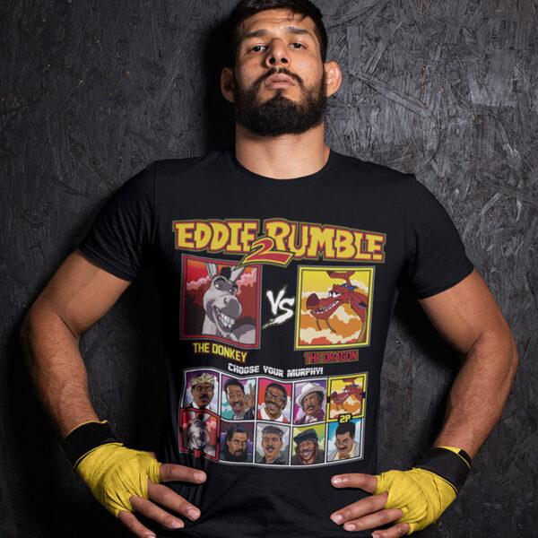 Eddie 2 Rumble Donkey vs Mushu Tee