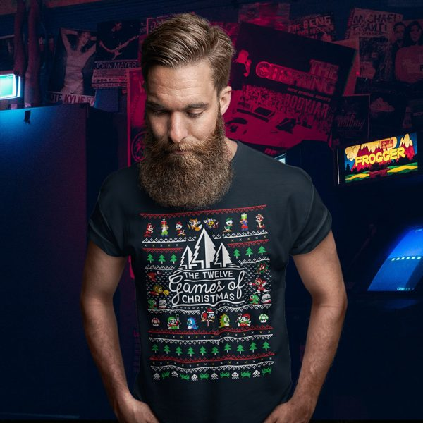 Gamer Christmas Sweater Tee