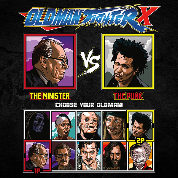 Gary Oldman Fighter - Winston Churchill vs Sid Vicious