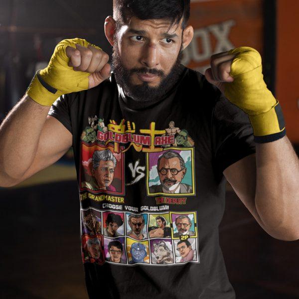 goldblum axe shirt fighter