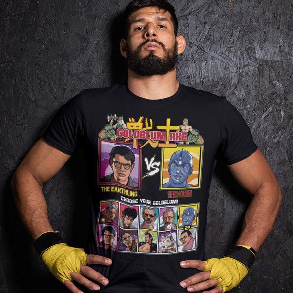 goldblum axe vs t-shirt fighter