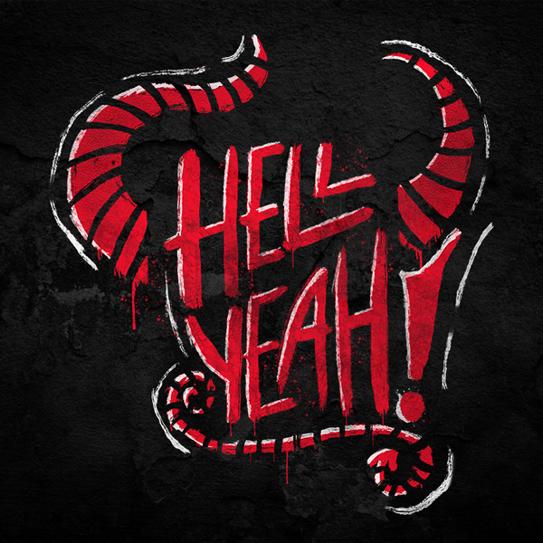 Hell Yeah Typography