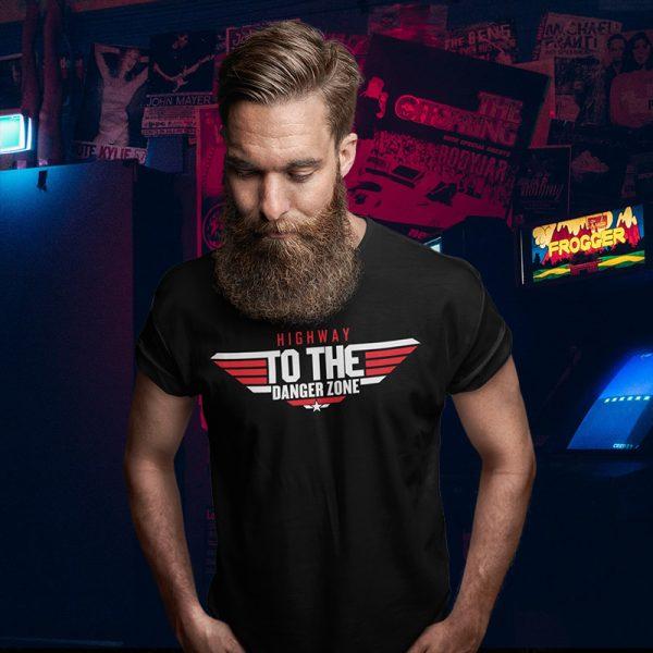 Highway to the Danger Zone Top Gun T-Shirt