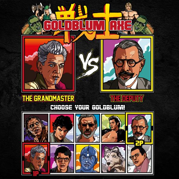 Jeff Goldblum Axe vs Tee