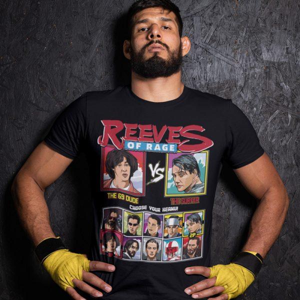 Keanu Reeves Tee Shirt Point Break vs Ted