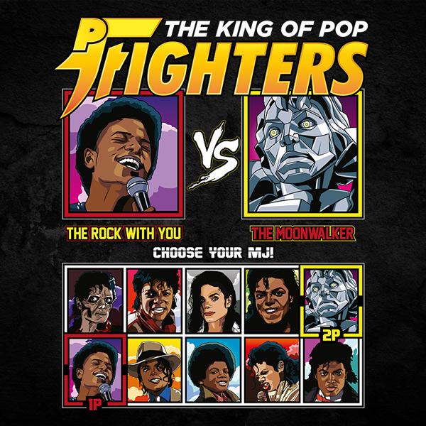 King of Pop Fighters Rock With You vs Moonwalker