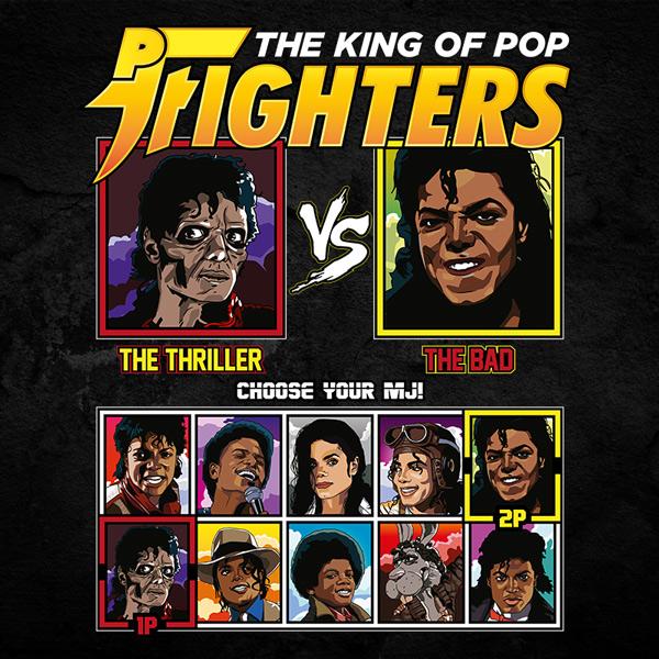 King of Pop Fighters Thriller vs Bad