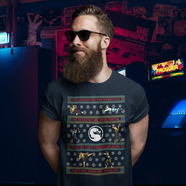 Mortal Kombat Ugly Christmas Sweater T-Shirt