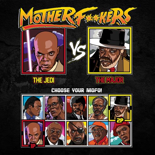 Motherfucker Mace Windu vs Major Sam Jackson