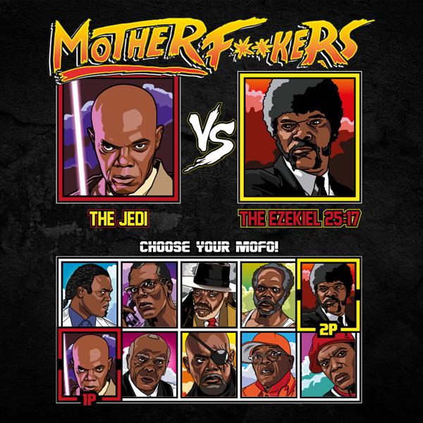 Mace Windu vs Jules Winnfield Motherfuckers