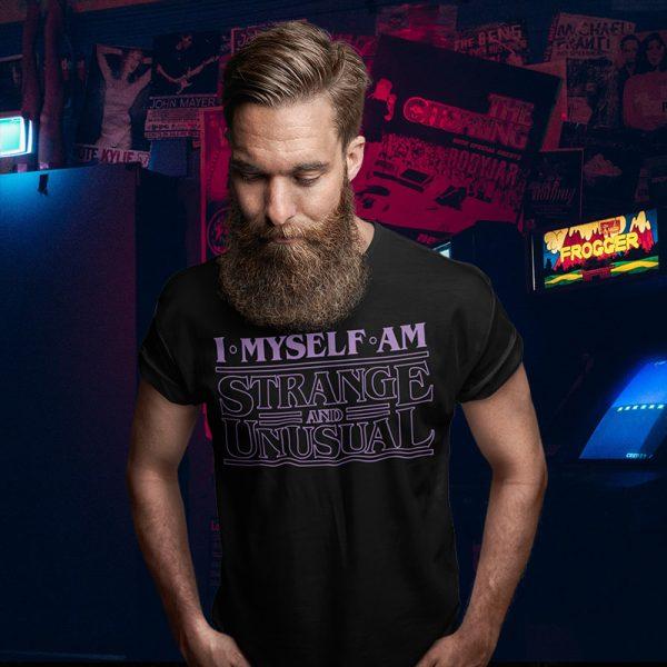 I Myself Am Strange & Unusual Beetlejuice T-Shirt