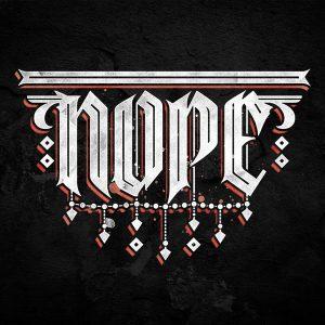 Nope Typography Caligraffiti