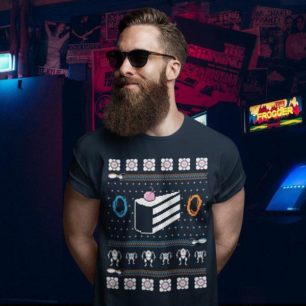 Portal Ugly Christmas Sweater T-Shirt