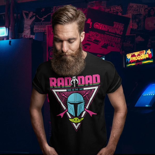 Rad Dad Mandalorian T-Shirt