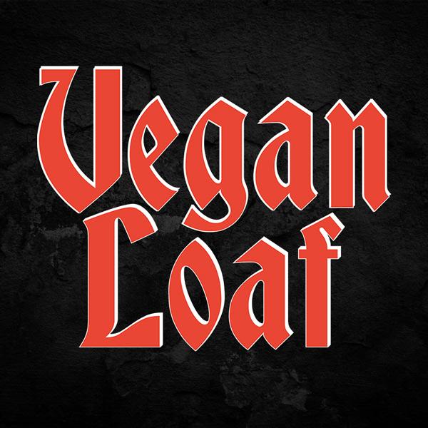 Vegan Loaf Typography