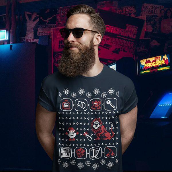 Yolkfolk Dizzy Ugly Christmas Sweater T-Shirt