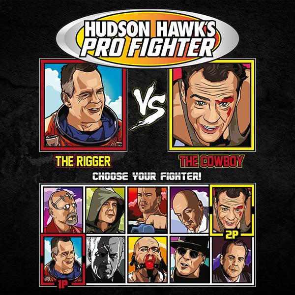 Bruce Willis Pro Fighter - Armageddon vs Die Hard