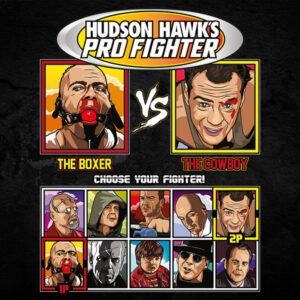Bruce Willis Pro Fighter - Pulp Fiction vs Die Hard
