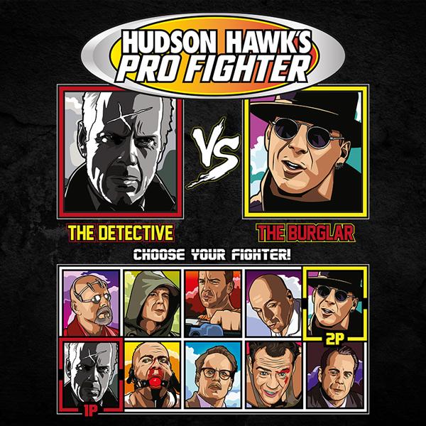 Bruce Willis Pro Fighter - Sin City vs Hudson Hawk