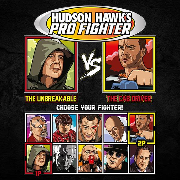 Bruce Willis Pro Fighter - Unbreakable vs Fifth Element