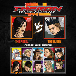 Charlize Theron Tournament Fighter - Aeon Flux vs Snow White