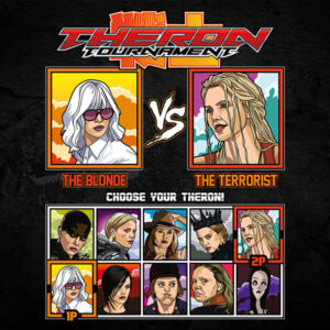 Charlize Theron Tournament Fighter - Atomic Blonde vs Fast & Furious