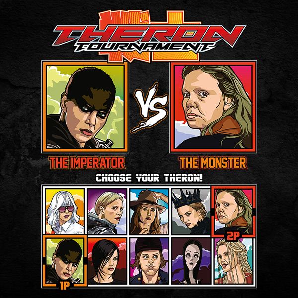 Charlize Theron Tournament Fighter - Madmax vs Monster