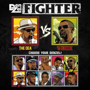 Denzel Washington Fighter - 2 Guns vs Book of Eli