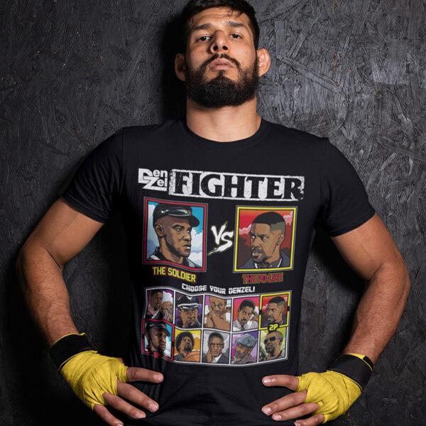 Denzel Washington Fighter - Glory vs Training Day Tee