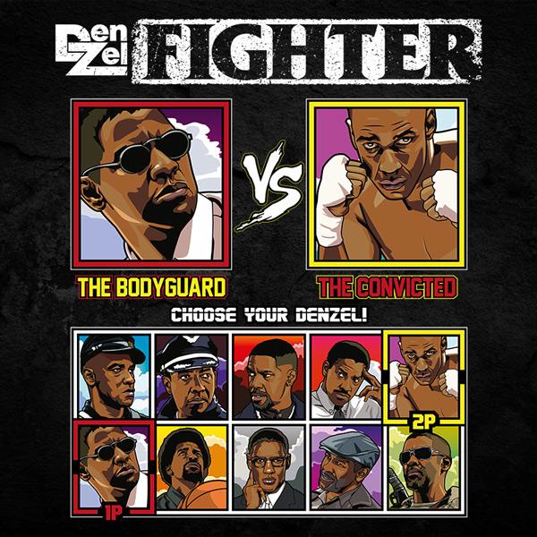 Denzel Washington Fighter - Man on Fire vs The Hurricane