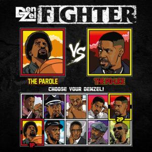 Denzel Washington Fighter - He Got Game vs Training Day